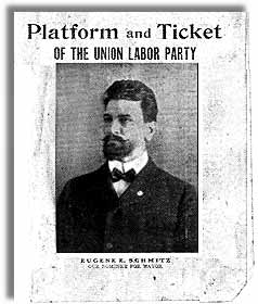 Cover of the Platform of the Union Labor Party