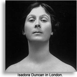 Isadora Duncan in London