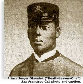 photograph of Zulu  Prince Jerger Okokudek