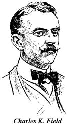 Drawing of Charles K. Field